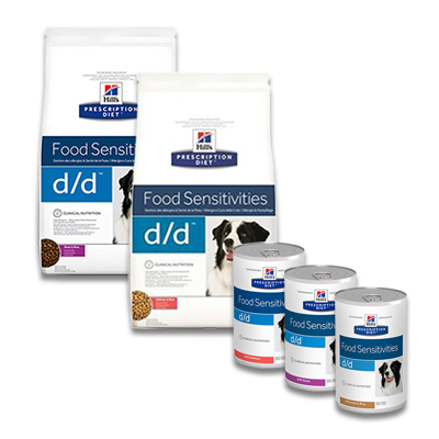 Hill's Prescription Diet Canine d/d Food Sensitivities | Petcure.nl