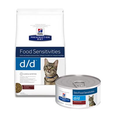 Hill's Prescription Diet Feline d/d Food Sensitivities
