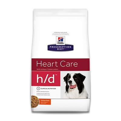 Hill's Prescription Diet Canine h/d Heart Care | Petcure.nl