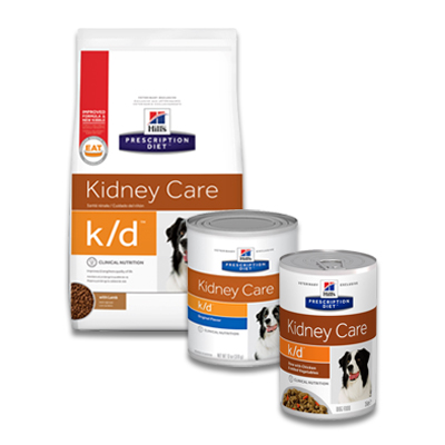 Hill's Prescription Diet Canine k/d Kidney Care | Petcure.nl