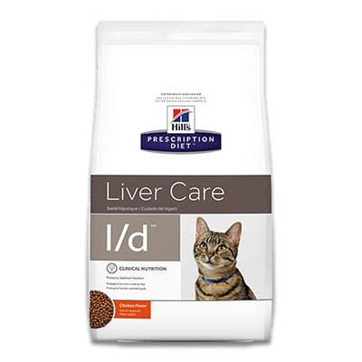 Hill's Prescription Diet Feline l/d Liver Care