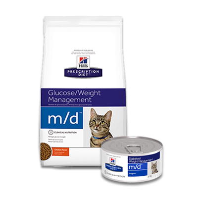 Hill's Prescription Diet Feline m/d Glucose/Weight Management | Petcure.nl