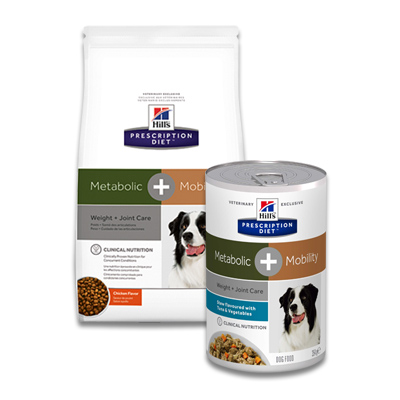 Hill's Prescription Diet Canine Metabolic + Mobility (j/d) | Petcure.nl