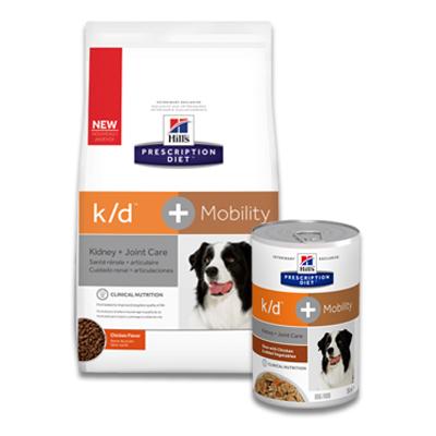 Hill's Prescription Diet Canine k/d + Mobility (j/d) | Petcure.nl