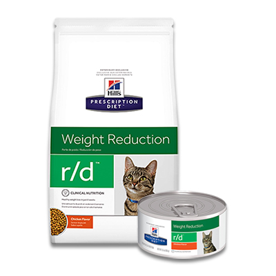 Hill's Prescription Diet Feline r/d Weight Reduction