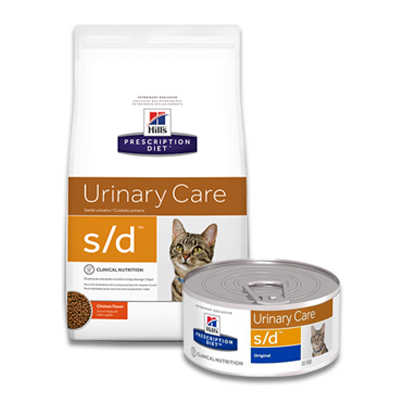 Hill's Prescription Diet Feline s/d Urinary Care (Dissolution)