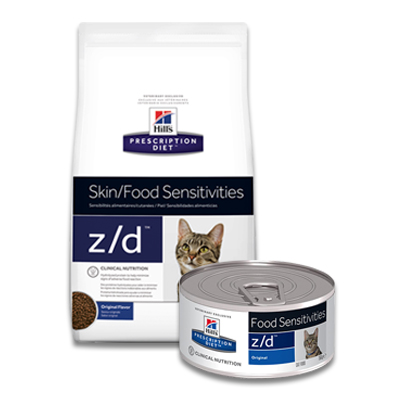 Hill's Prescription Diet Feline z/d Food Sensitivities | Petcure.nl