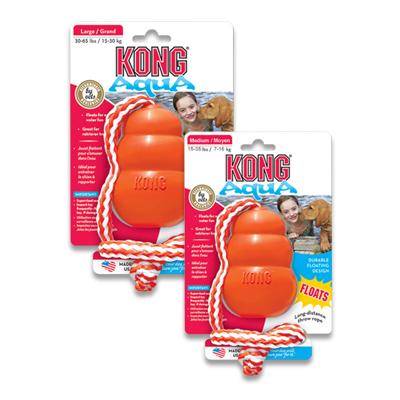 Kong Aqua met Werptouw