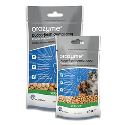 Orozyme Bucco-Fresh Dental Croq | Petcure.nl