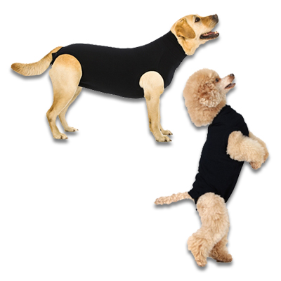 Recovery Suit Hond - Zwart
