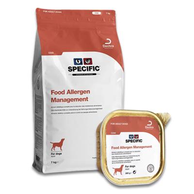 SPECIFIC CDD/CDW Food Allergen Management Hund