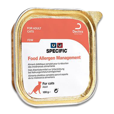SPECIFIC FDW Food Allergen Management Kat | Petcure.nl