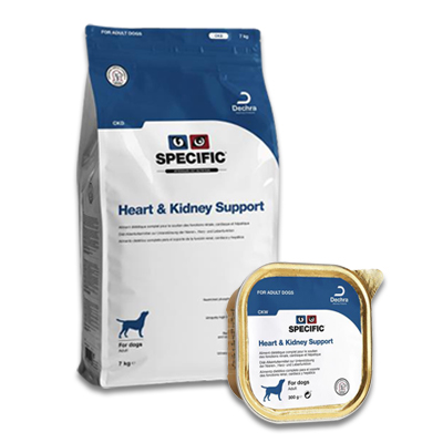 SPECIFIC CKD/CKW Heart & Kidney Support Hund
