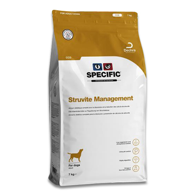 SPECIFIC CCD Struvite Management Hond | Petcure.nl