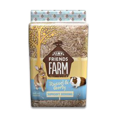 Supreme Tiny Friends Farm - Russel & Gerty Supasoft Bedding