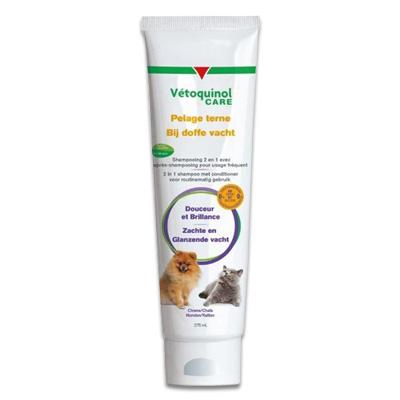 Vetoquinol Care - Shampoo Bij Doffe Vacht | Petcure.nl