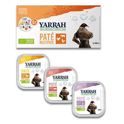 Yarrah Bio Multi Pack Paté Hond (3 verschillende smaken) | Petcure.nl