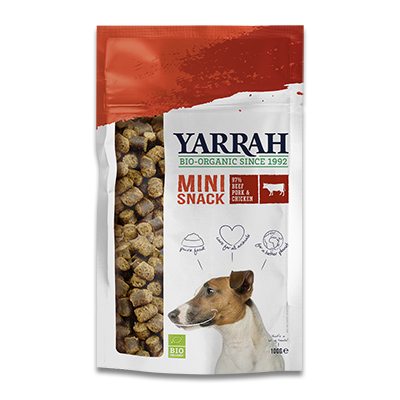 Yarrah Bio Mini Snack Hond (Mini Bites)