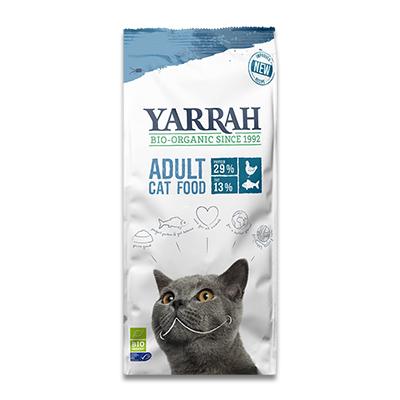 Yarrah Bio-Katzenfutter Adult mit Fisch
