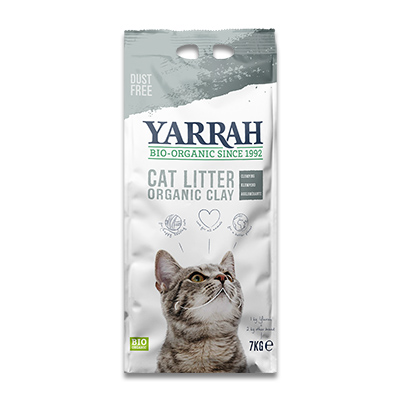 Yarrah Organic Clumping Clay Cat Litter