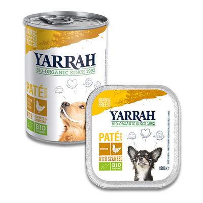 Yarrah Bio Paté met Kip, Spirulina en Zeewier - Hond | Petcure.nl