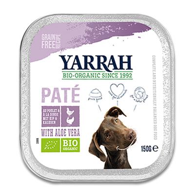 Yarrah Bio Paté met Kalkoen, Kip en Aloë Vera - Hond