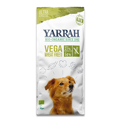 Yarrah Bio Vega Ultra Sensitive Weizenfreies Trockenfutter