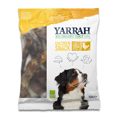 Yarrah Bio Huhnerhälse für Hunde
