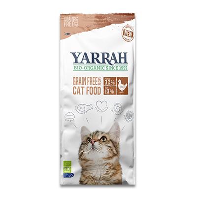Yarrah Biologisch Graanvrij Kattenvoer