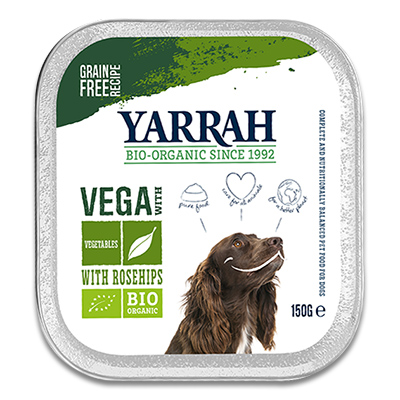 Yarrah Vega Chunks Soya Beans with Rosehips - Dog