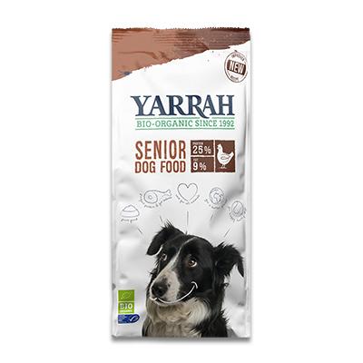 Yarrah Biologisch Senior Hond (Kip, Vis en Kruiden) | Petcure.nl