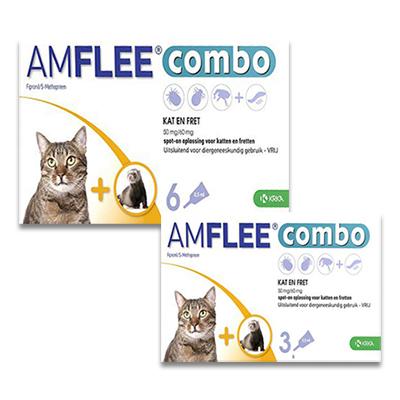 Amflee Combo Kat en Fret | Petcure.nl