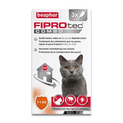 FIPROtec Combo Kat en Fret | Petcure.nl