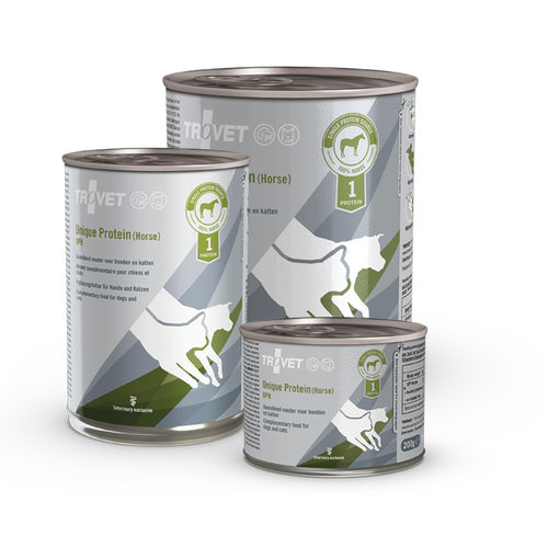 TROVET Unique Protein UPH Paard (Horse) | Petcure.nl