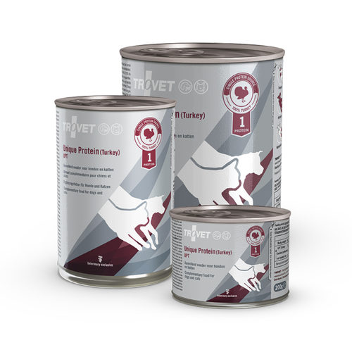 TROVET Unique Protein UPT Turkey