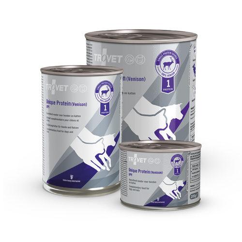 TROVET Unique Protein UPV Hirsch (Venison)