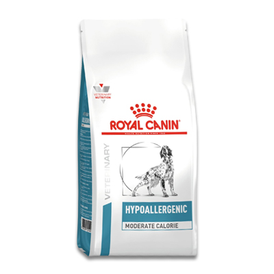 Royal Canin Hypoallergenic Moderate Calorie - 14 kg