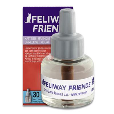 Feliway Friends Navulling - 1 x 48 ml | Petcure.nl