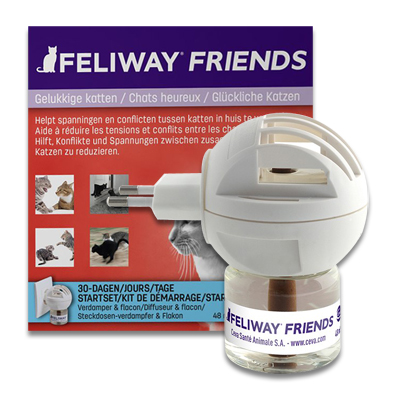 Feliway Friends Verdamper met Flacon - 48 ml | Petcure.nl