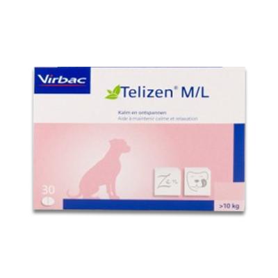 Telizen M/L (10-25kg/100 mg) - 30 Tabletten | Petcure.nl