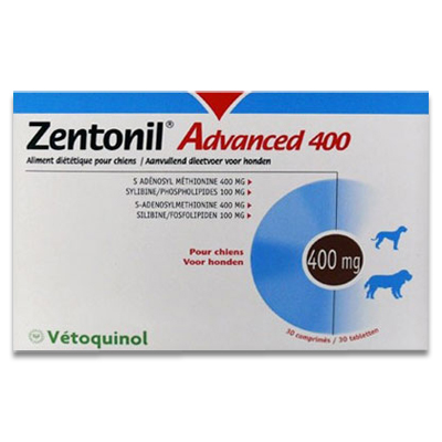 Zentonil Advanced 400 - 30 Tabletten | Petcure.nl
