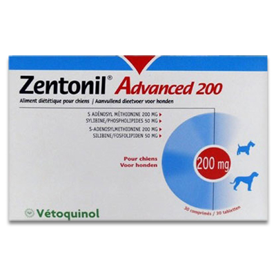 Zentonil Advanced 200 - 30 Tabletten | Petcure.nl