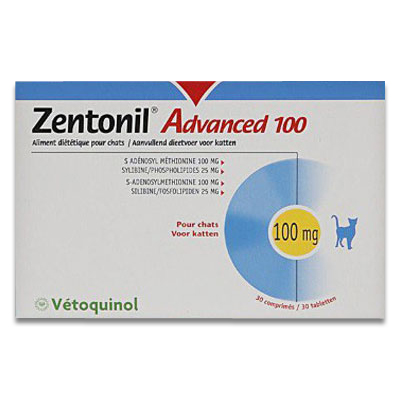 Zentonil Advanced 100 - 30 Tabletten | Petcure.nl
