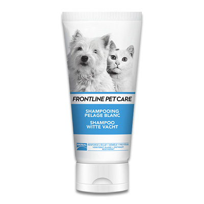 Frontline Pet Care Shampoo Witte Vacht - 200 ml | Petcure.nl