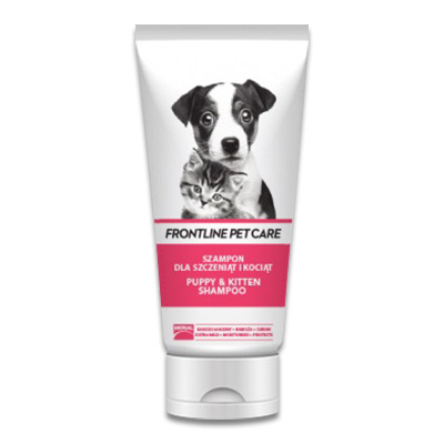 Frontline Pet Care Shampoo Puppy & Kitten - 200 ml | Petcure.nl