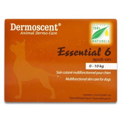 Dermoscent Essential 6 Dog (1 - 10 kg) - 4 Pipettes