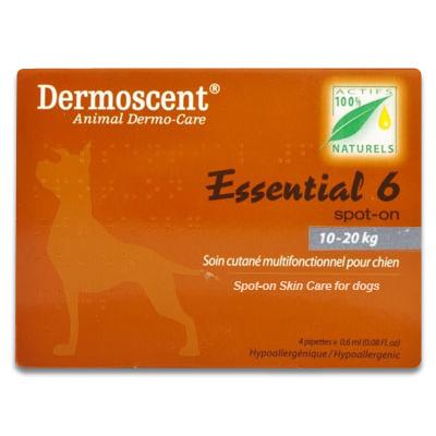 Dermoscent Essential 6 Dog (10 - 20 kg) - 4 Pipettes