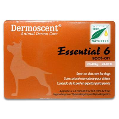 Dermoscent Essential 6 Dog (20 - 40 kg) - 4 Pipettes