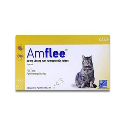 Amflee Spot-on Kat - 3 Pipetten | Petcure.nl
