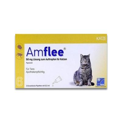 Amflee Spot-on Kat - 6 Pipetten | Petcure.nl